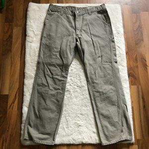 Carhartt men's 100% cotton relaxed fit work pants size 35Wx30L